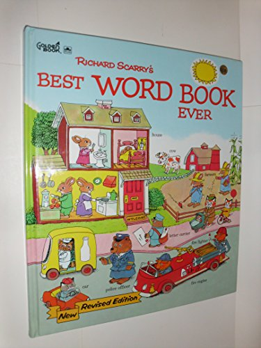 9780307655103: Richard Scarry's Best Word Book Ever