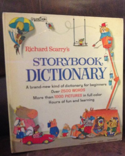 9780307655486: Richard Scarry's Storybook Dictionary