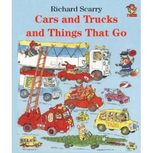 9780307657855: Richard Scarry's Cars and Trucks and Things That Go (Golden Bestsellers Series)