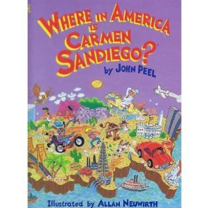 9780307658593: Where in America Is Carmen Sandiego (Golden Storybooks)