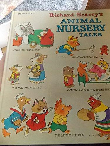 9780307668103: Richard Scarry's Animal Nursery Tales