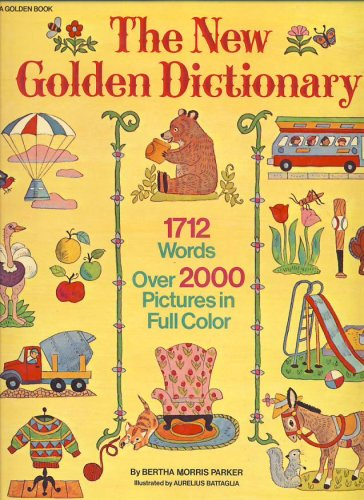 9780307668370: The New Golden Dictionary
