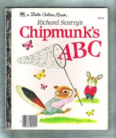 9780307680242: Richard Scarry's Chipmunk's ABC