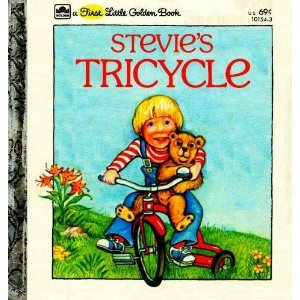 9780307681195: Stevie's Tricycle (First Little Golden Book)