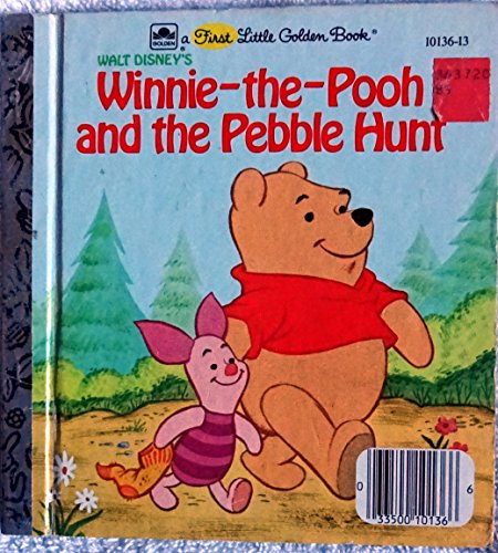 9780307681218: Winnie-the-Pooh and the Pebble Hunt (A First Little Golden Book)