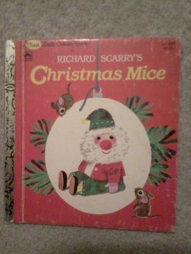9780307681256: Richard Scarry's Christmas Mice