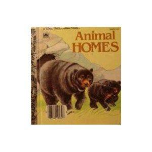 9780307681324: Animal homes (A First little golden book)