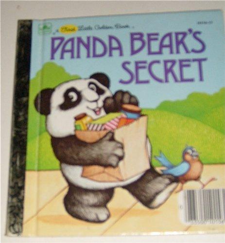 9780307681362: Panda Bear's Secret (First Little Golden Book)