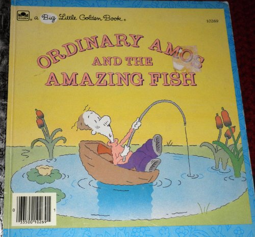 Ordinary Amos and the Amazing Fish (Big Little Golden Books): Fernandes, Eugenie, Fernandes, Henry