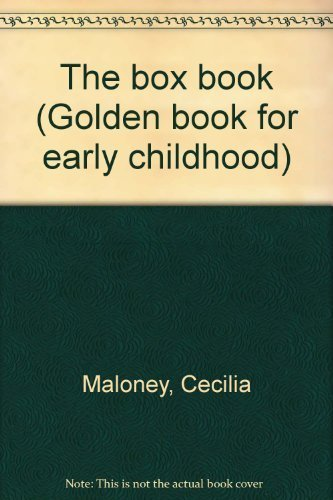 9780307689108: The box book (Golden book for early childhood)