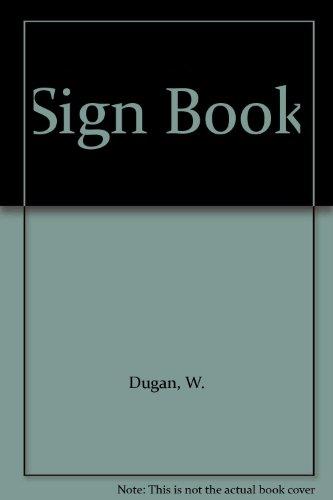 9780307689740: Sign Book