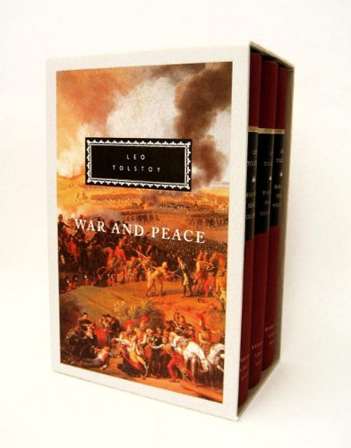 9780307700759: War and Peace: 1-3 (Everyman's Library)