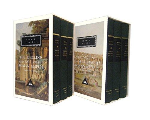 The Decline and Fall of the Roman Empire Set (Hardback): Edward Gibbon