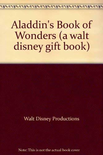 9780307703163: Aladdin's Book of Wonders (A Walt Disney Gift Book)