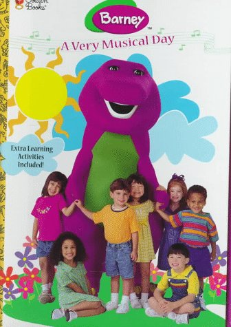 9780307711465: A Very Musical Day (Barney)