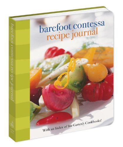 Barefoot Contessa Recipe Journal: With An Index Of Ina