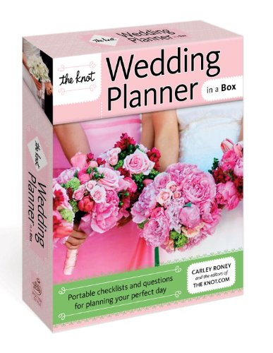 9780307718600: The Knot Wedding Planner in a Box: Portable Checklists and Questions for Planning Your Perfect Day