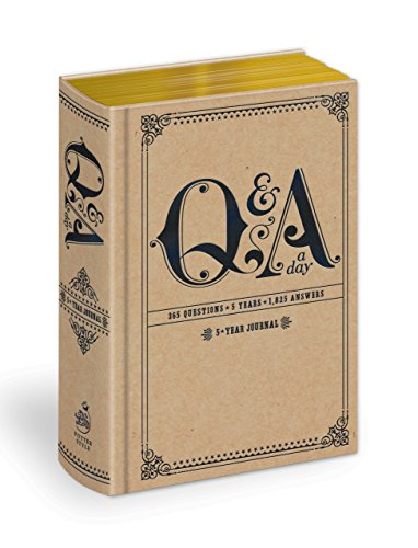 9780307719775: Q and A a Day: 5-Year Journal