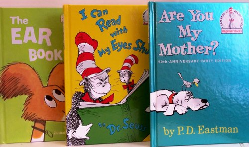 9780307724984: Are You My Mother? / I Can Read with My Eyes Shut / The Ear Book - 3 Book Set (I Can Read It Beginner Books)
