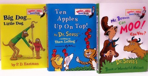Mr. Brown Can Moo! Can You? / Ten Apples Up On Top / Big Dog Little Dog (Bright and Early...