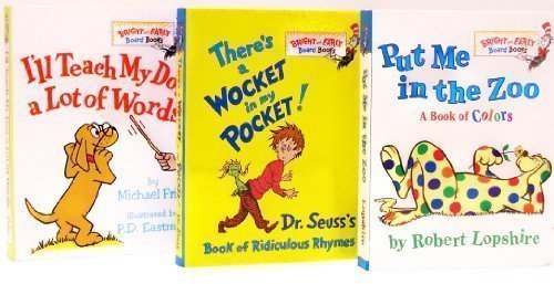 9780307727947: Put Me in the Zoo / There's a Wocket in My Pocket / I'll Teach My Dog a Lot of Words (Bright and Ear