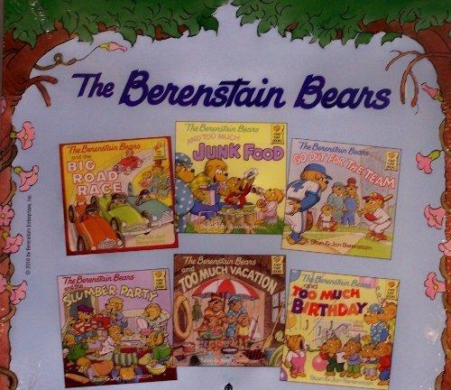 9780307728135: Berenstain Bears Set : The Big Road Race / Berenstain Bears and Too Much Junk Food / Berenstain Bear