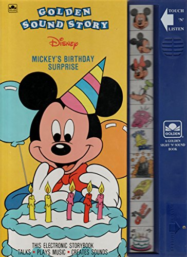 Mickey's Birthday Surprise (Deluxe Sound Story): Nolan, Billy