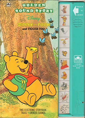 9780307740199: Winnie the Pooh and Tigger Too (Golden Sight 'n' Sound Book)