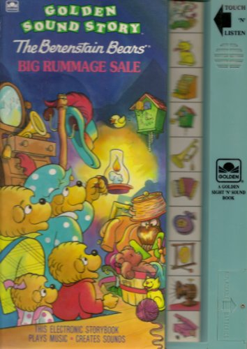 9780307740205: The Berenstain Bears Big Rummage Sale (Golden Sound Story)