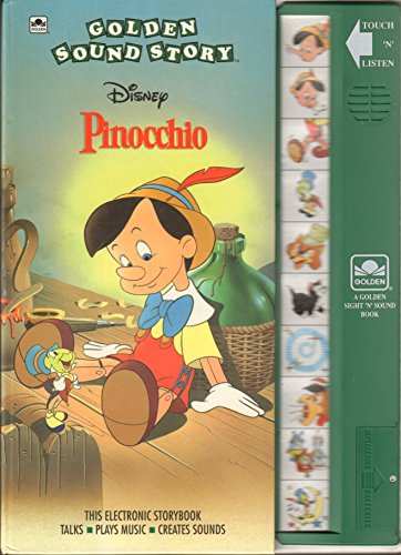 Walt Disney's Pinocchio: Golden Sound Story Book (A Golden Sight and Sound Book): Sidelines