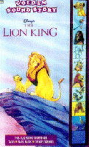 9780307740380: Disney's the Lion King (Golden Sound Story)