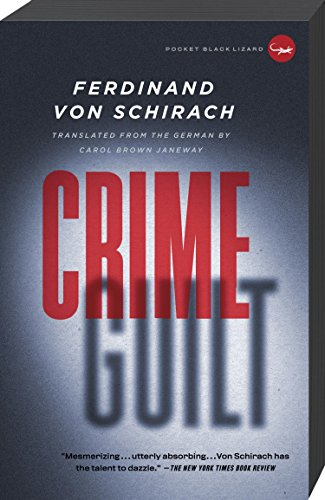 9780307740939: Crime and Guilt: Stories
