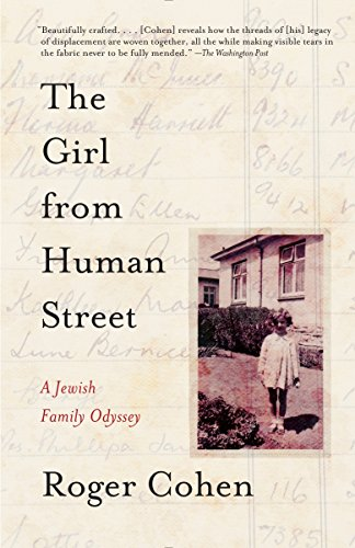 9780307741417: The Girl from Human Street: A Jewish Family Odyssey