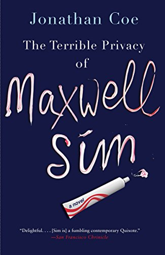 Terrible Privacy Of Maxwell Sim, The 9780307742155 Maxwell Sim can't seem to make a single meaningful connection. He maintains an e-mail correspondence with his estranged wife, though under a false identity; his incomprehensible teenage daughter prefers her BlackBerry to his conversation; and his childhood best friend refuses to return his calls. In an attempt to get out of this horrible rut, Max quits his job at the local department store and accepts a strange business proposition that has him driving a Prius full of toothbrushes from London to the remote Shetland Islands. But Max's trip doesn't go as planned, as he's unable to resist making a series of impromptu visits to important figures from his past.   A modern-day picaresque from Jonathan Coe—acclaimed author of The Rotters' Club—The Terrible Privacy of Maxwell Sim explores the difficulties of making genuine connections in a world of advanced communications technology and rampant social networking.