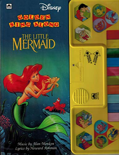 9780307743046: The Little Mermaid (Super Golden Sing Along Books)