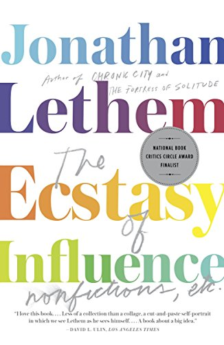 9780307744500: The Ecstasy of Influence: Nonfictions, Etc. (Vintage Contemporaries)