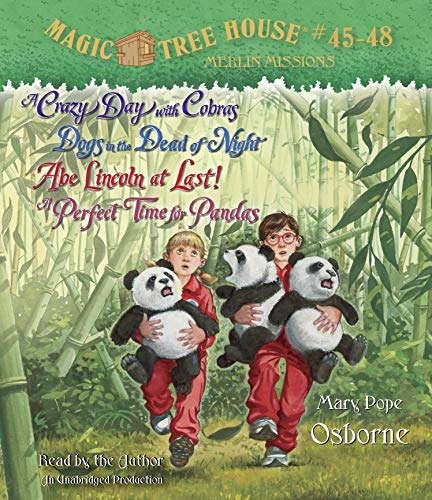 9780307746696: Magic Tree House: A Crazy Day With Cobras / Dogs in the Dead of Night / Abe Lincoln at Last! / a Perfect Time for Pandas
