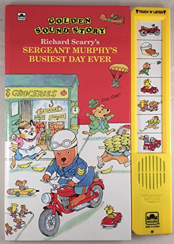 Sgt. Murphy Busiest Day Ever (Classic Sound Storybooks): Golden Books