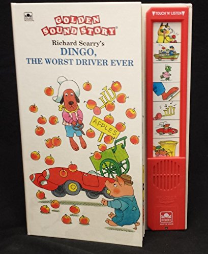 9780307747143: Richard Scarry's Dingo, the Worst Driver Ever (Golden Sound Story)