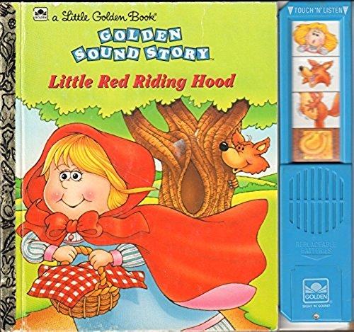 Little Red Riding Hood Little Golden Sound Story Books By Golden