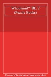 9780307814517: Whodunnit?: Bk. 2 (Puzzle Books)