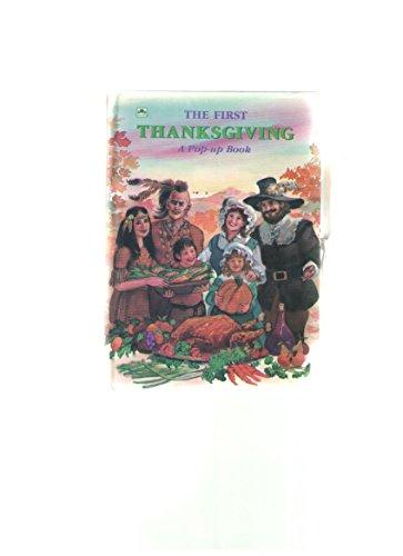 9780307825100: The First Thanksgiving (Miniature Pop-ups Ser.)