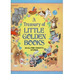 9780307865403: A Treasury of Little Golden Books: 36 All-Time Favorite Stories