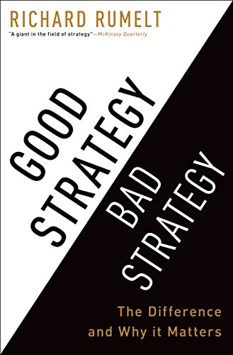9780307886231: Good Strategy Bad Strategy: The Difference and Why it Matters [Edicione Roughcut]