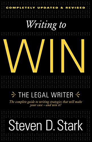 9780307888716: Writing to Win: The Legal Writer