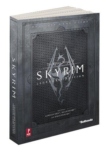 9780307895509: The Elder Scrolls V: Skyrim Legendary Standard Edition: Prima Official Game Guide