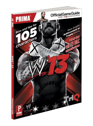 9780307896681: WWE 13: Prima Official Game Guide