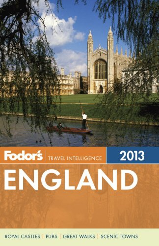 9780307929471: Fodor's England 2013: with the Best of Wales (Full-color Travel Guide)