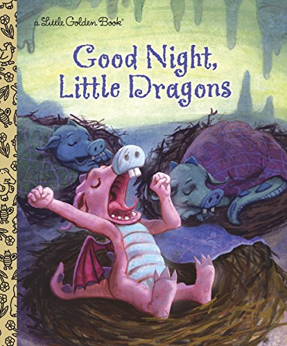 9780307929570: Good Night, Little Dragons (Little Golden Book)