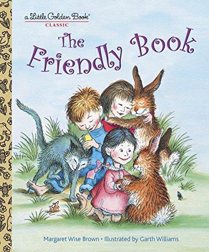 9780307929624: The Friendly Book (Little Golden Book)